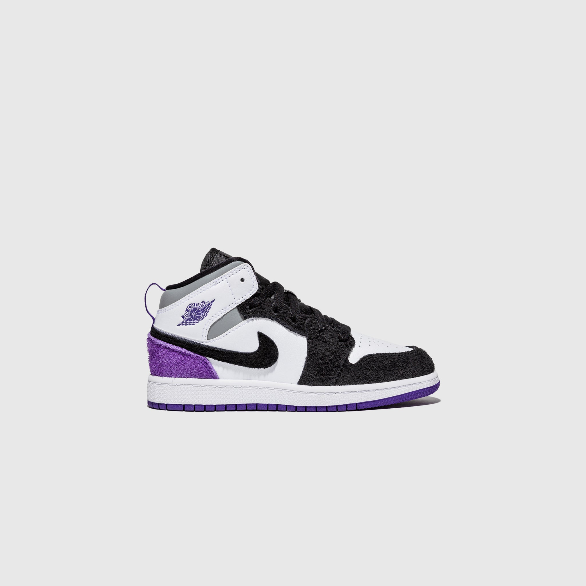 "AIR JORDAN 1 MID SE (PS) ""COURT PURPLE"""