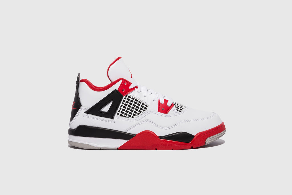 "AIR JORDAN 4 RETRO (PS) ""FIRE RED"""