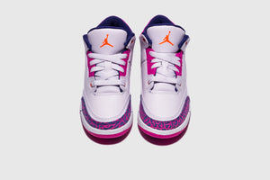 "AIR JORDAN 3 RETRO (PS) ""BARELY GRAPE"""