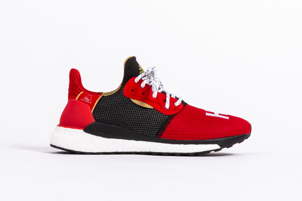 "ADIDAS ORIGINALS SOLAR HU GLIDE M X PHARRELL WILLIAMS ""CHINESE NEW YEAR"""