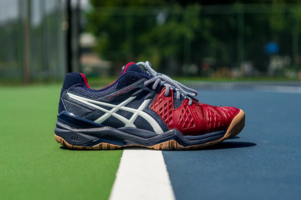 "PACKER x ASICS GEL-RESOLUTION ""GAME SET MATCH"""