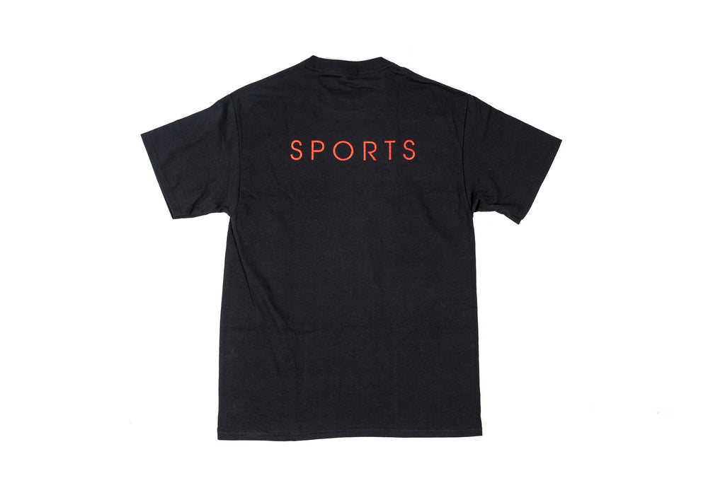 PACKER SPORTS TEE - BLACK