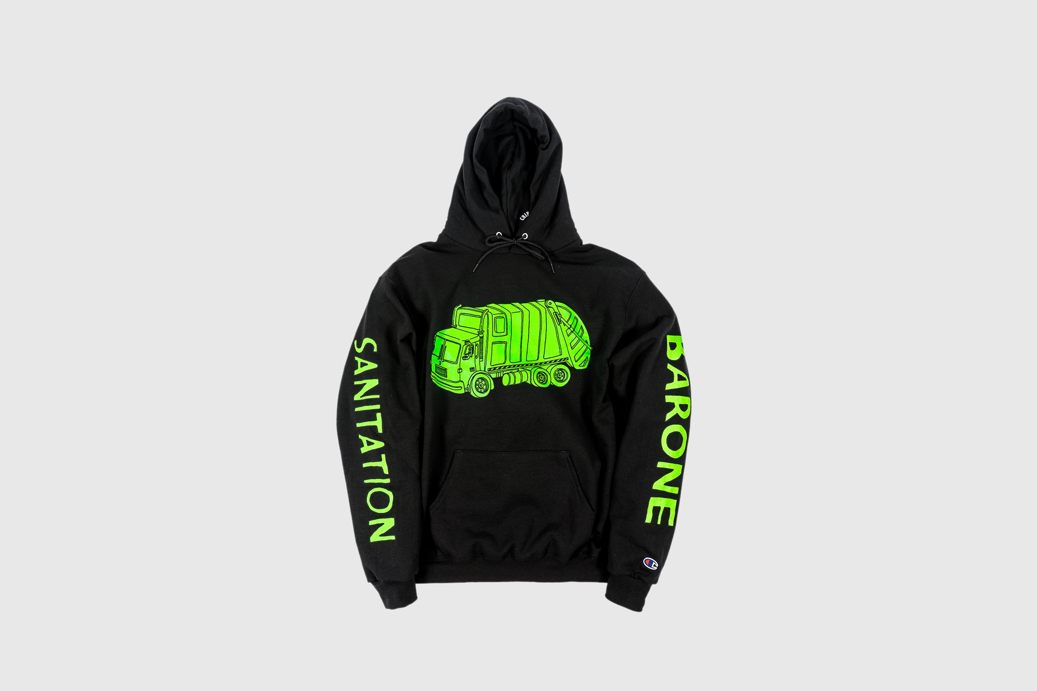 "CHINATOWN MARKET X PACKER ""WASTE MANAGEMENT"" HOODY"