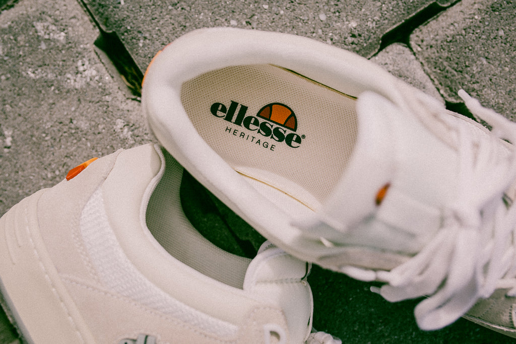 ELLESSE HERITAGE VINITZIANA (PACKER EXCLUSIVE) - OFF WHITE/LIGHT GREY