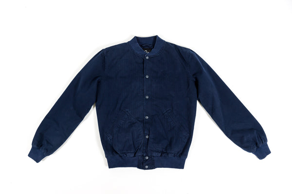 "PARRA VARSITY JACKET ""DROP OUT"" - NAVY"