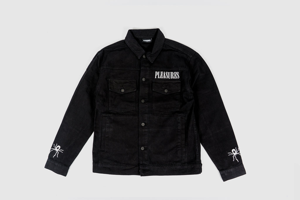 PLEASURES WEB DENIM JACKET