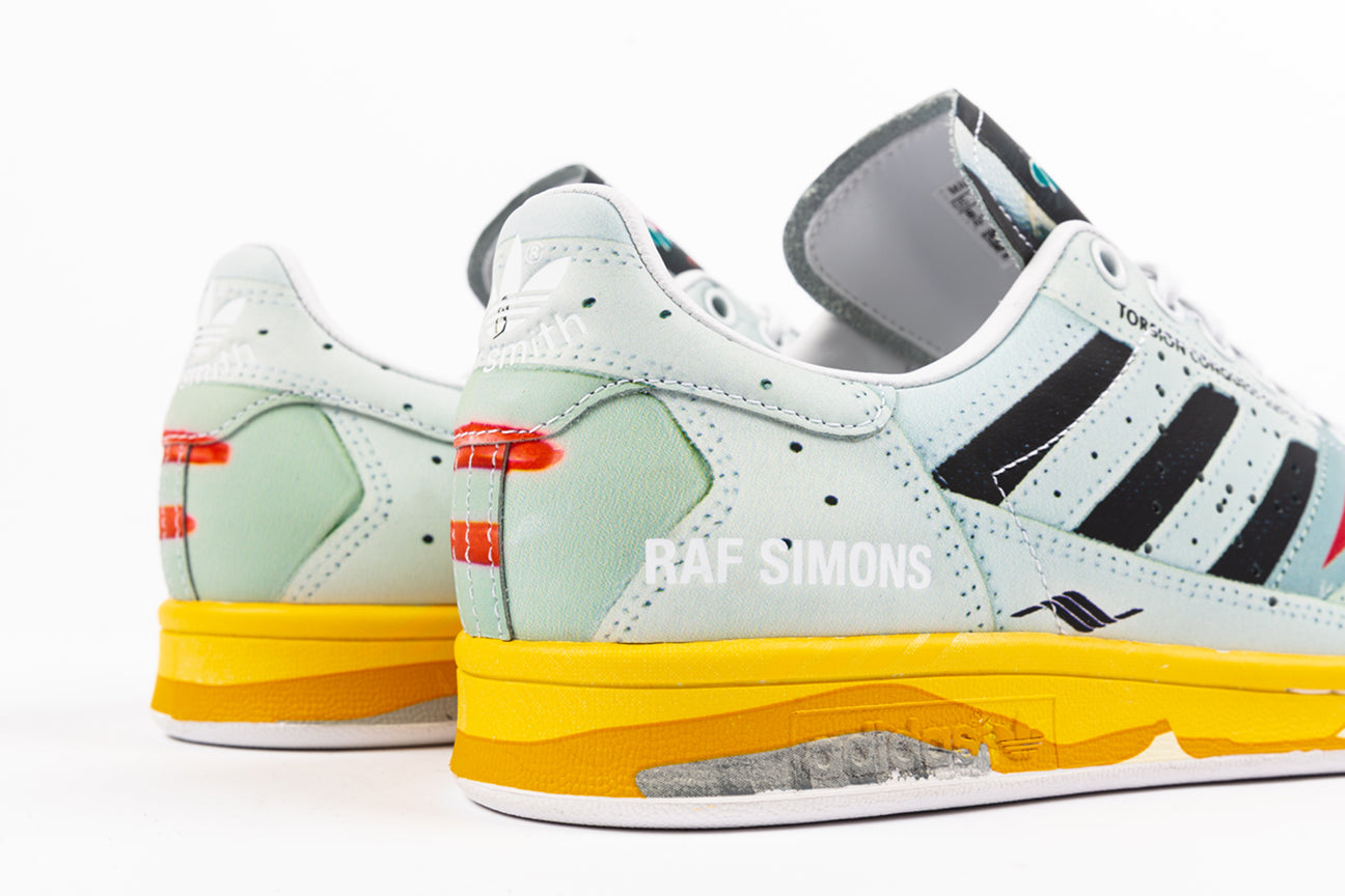 "ADIDAS STAN SMITH BY RAF SIMONS TORSION ""TROMPE L'OEIL PACK"""