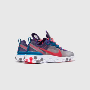 "NIKE REACT ELEMENT 87 ""RED ORBIT"""