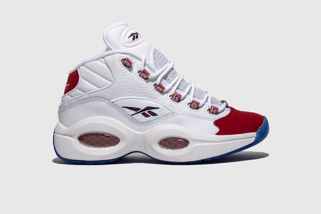 "REEBOK QUESTION MID ""RED TOE"""