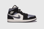 "AIR JORDAN 1 MID SE ""SMOKE GREY SATIN"""