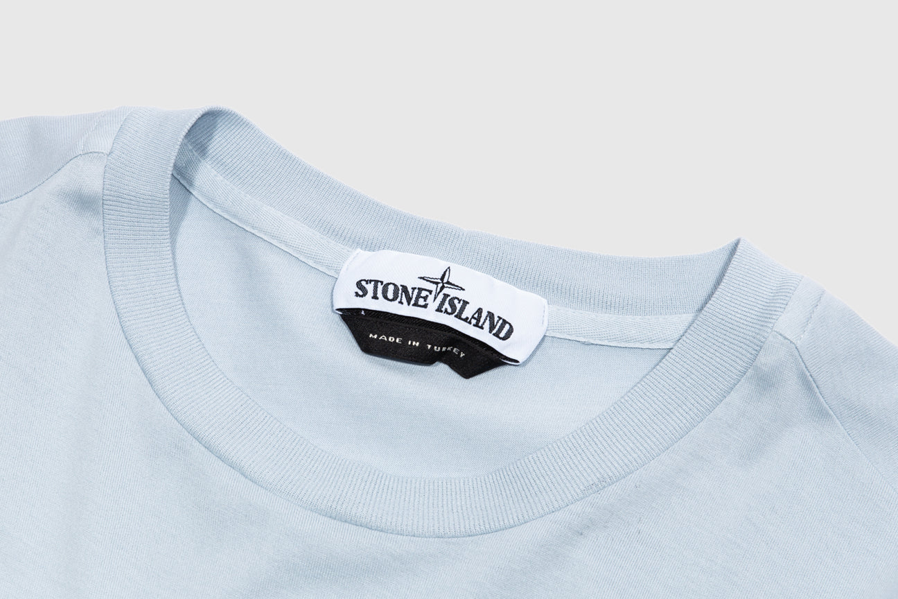 STONE ISLAND CHEST LOGO L/S T-SHIRT