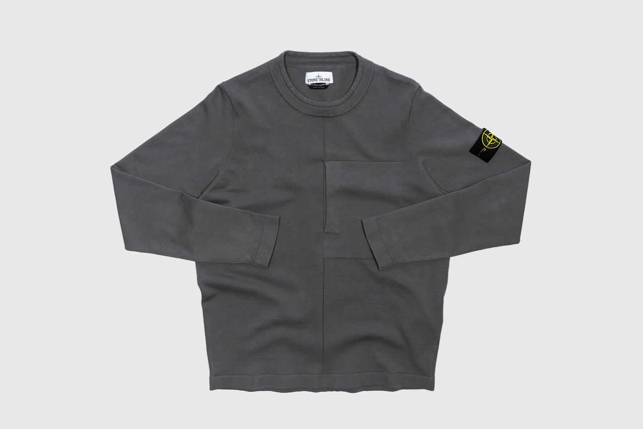 STONE ISLAND CREWNECK KNIT SWEATER