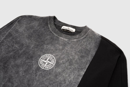 STONE ISLAND DUST ONE PRINT L/S T-SHIRT