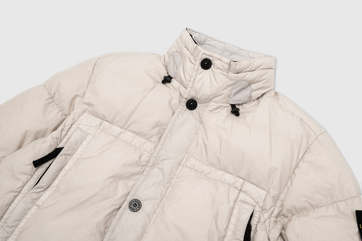 STONE ISLAND GARMENT DYED CRINKLE REPS DOWN JACKET