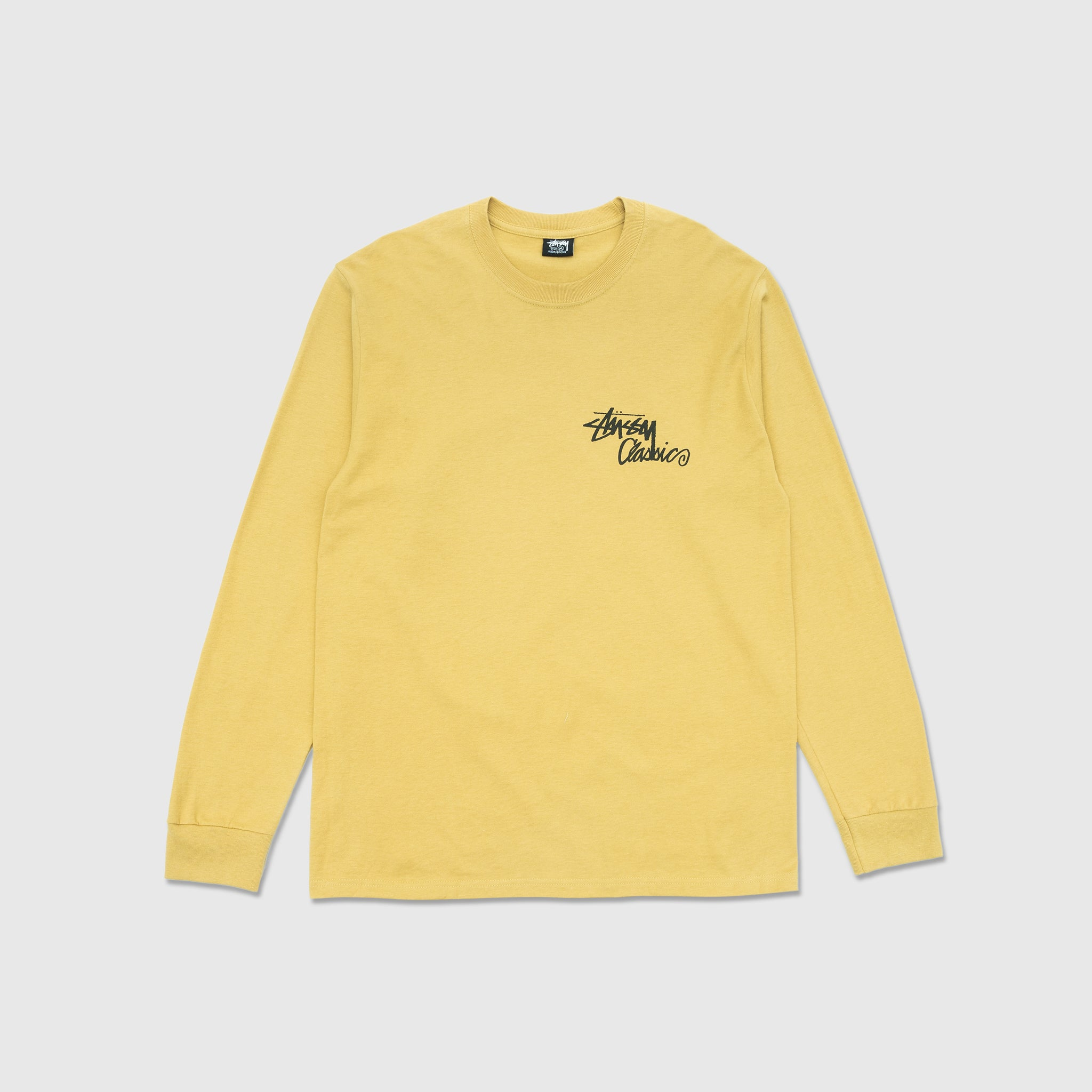 STUSSY A GO-GO L/S T-SHIRT