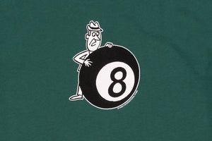 STUSSY BEHIND THE 8-BALL S/S T-SHIRT