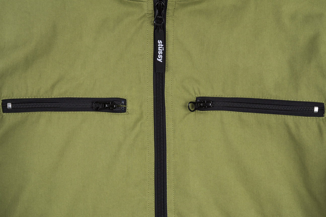 STUSSY BIG POCKET ANORAK JACKET