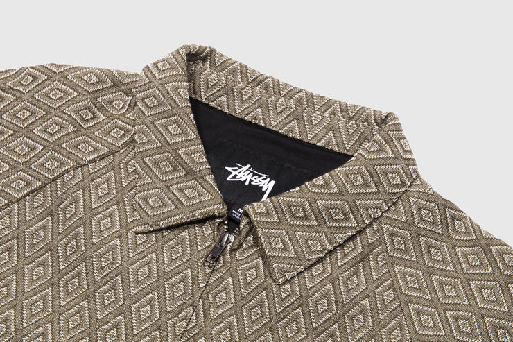 STUSSY BRYAN DIAMOND JACKET