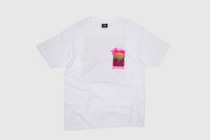 STUSSY CLEAR DAY S/S T-SHIRT