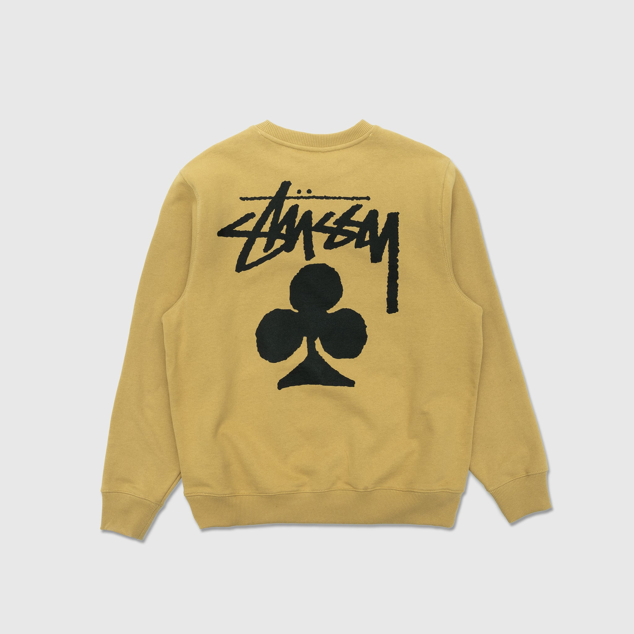 STUSSY CLUB CREWNECK SWEATSHIRT