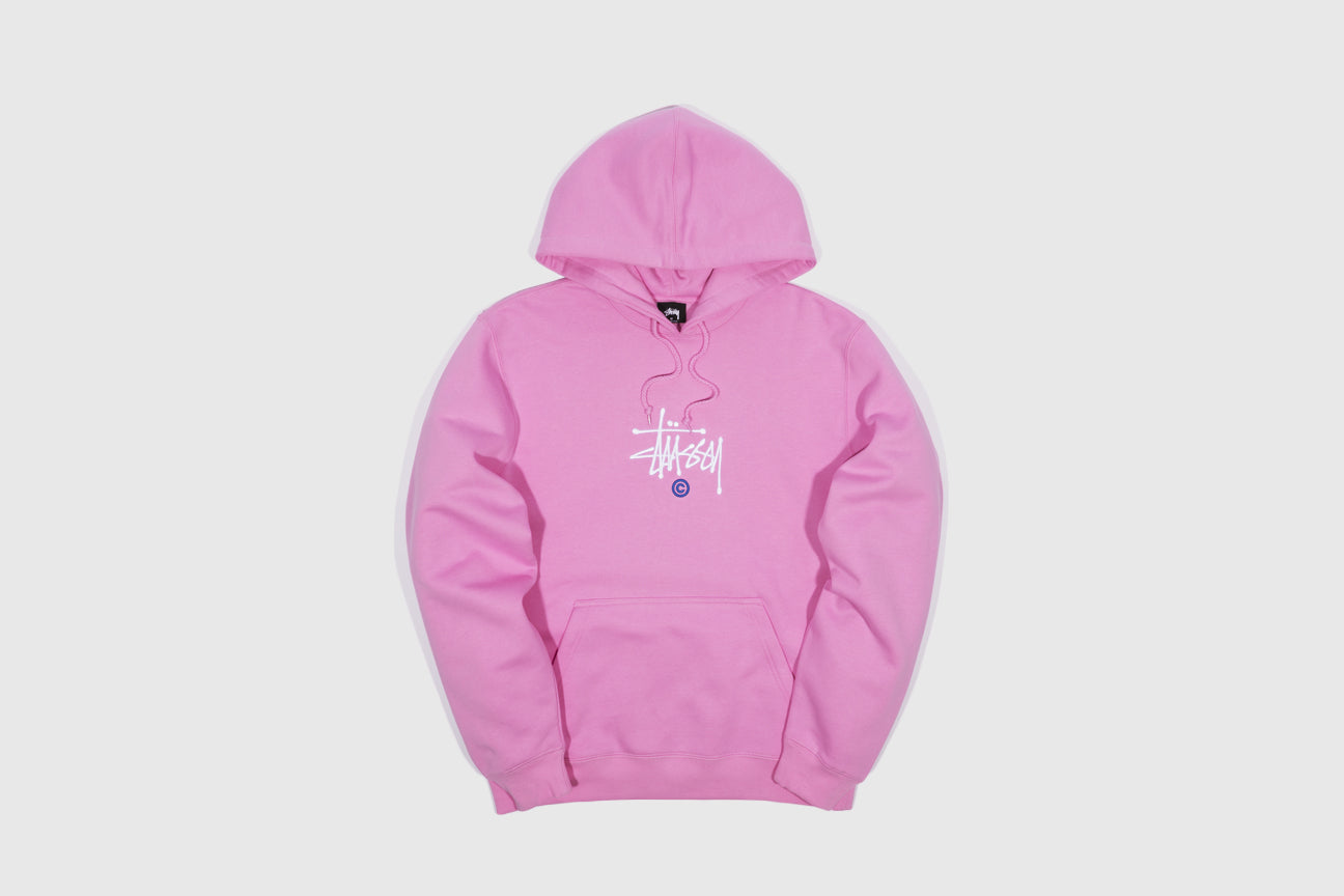 STUSSY COPYRIGHT APPLIQUE HOODY