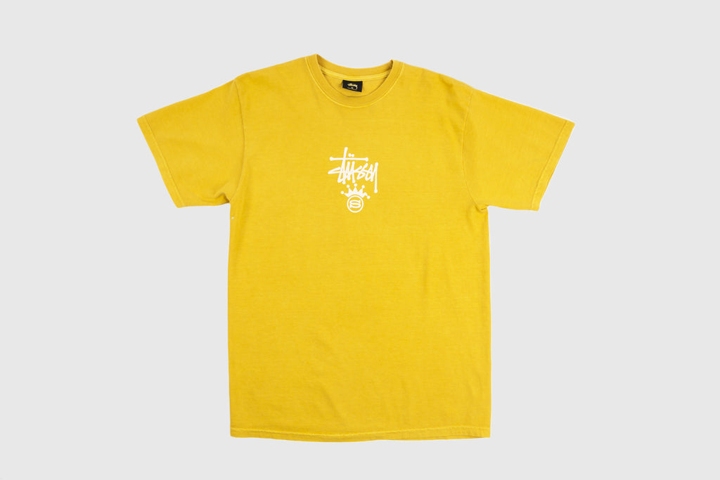 STUSSY S CROWNED S/S T-SHIRT