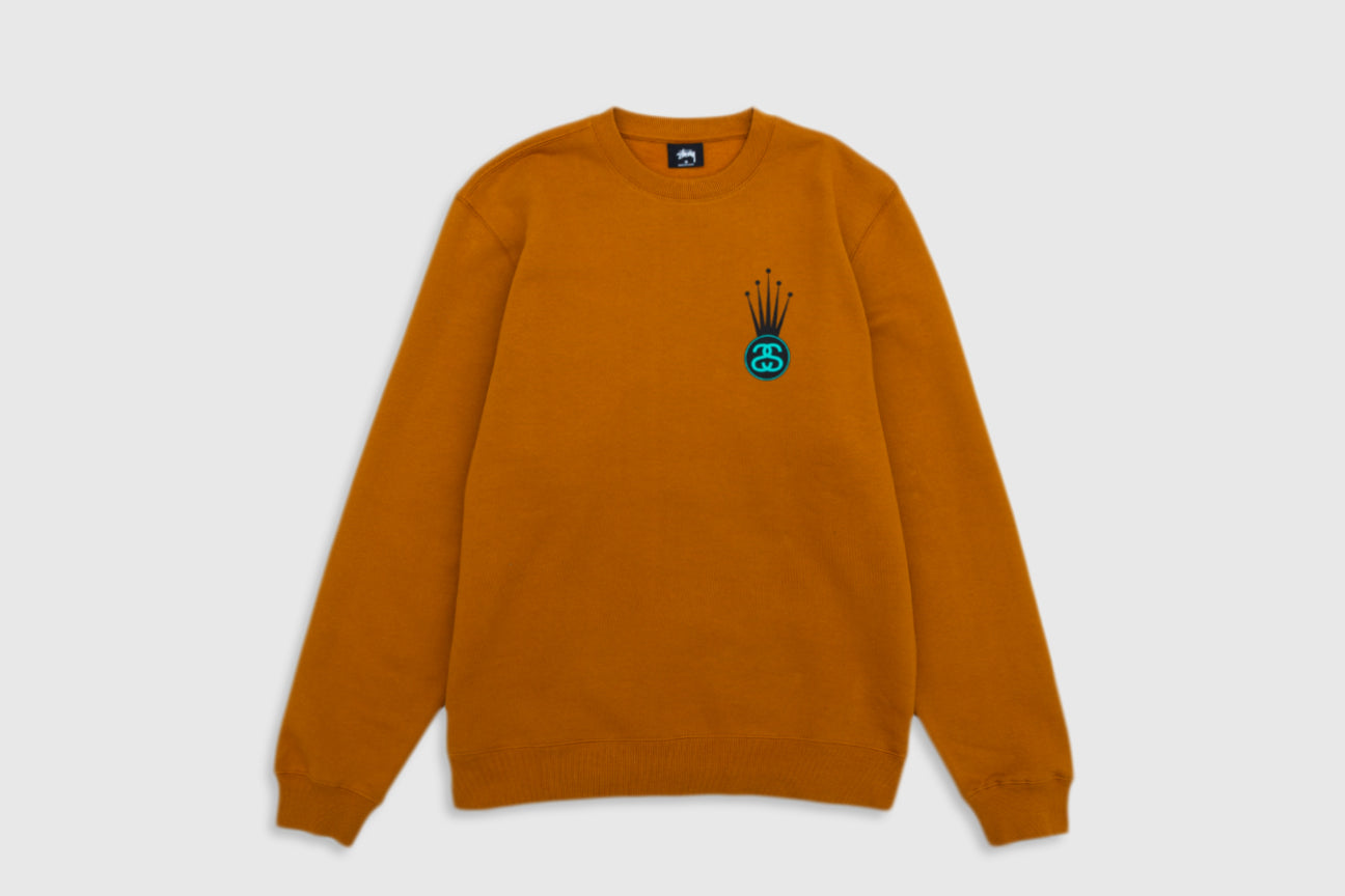 STUSSY CROWN LINK CREW SWEATSHIRT