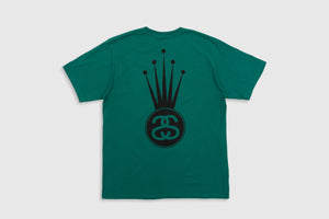 STUSSY CROWN LINK S/S T-SHIRT
