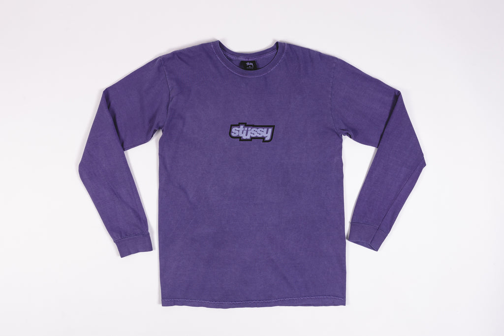 STUSSY DROP U L/S T-SHIRT