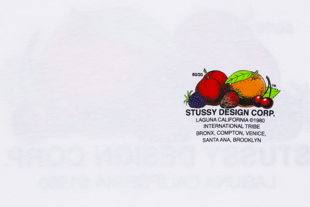 STUSSY FRESH FRUIT S/S T-SHIRT
