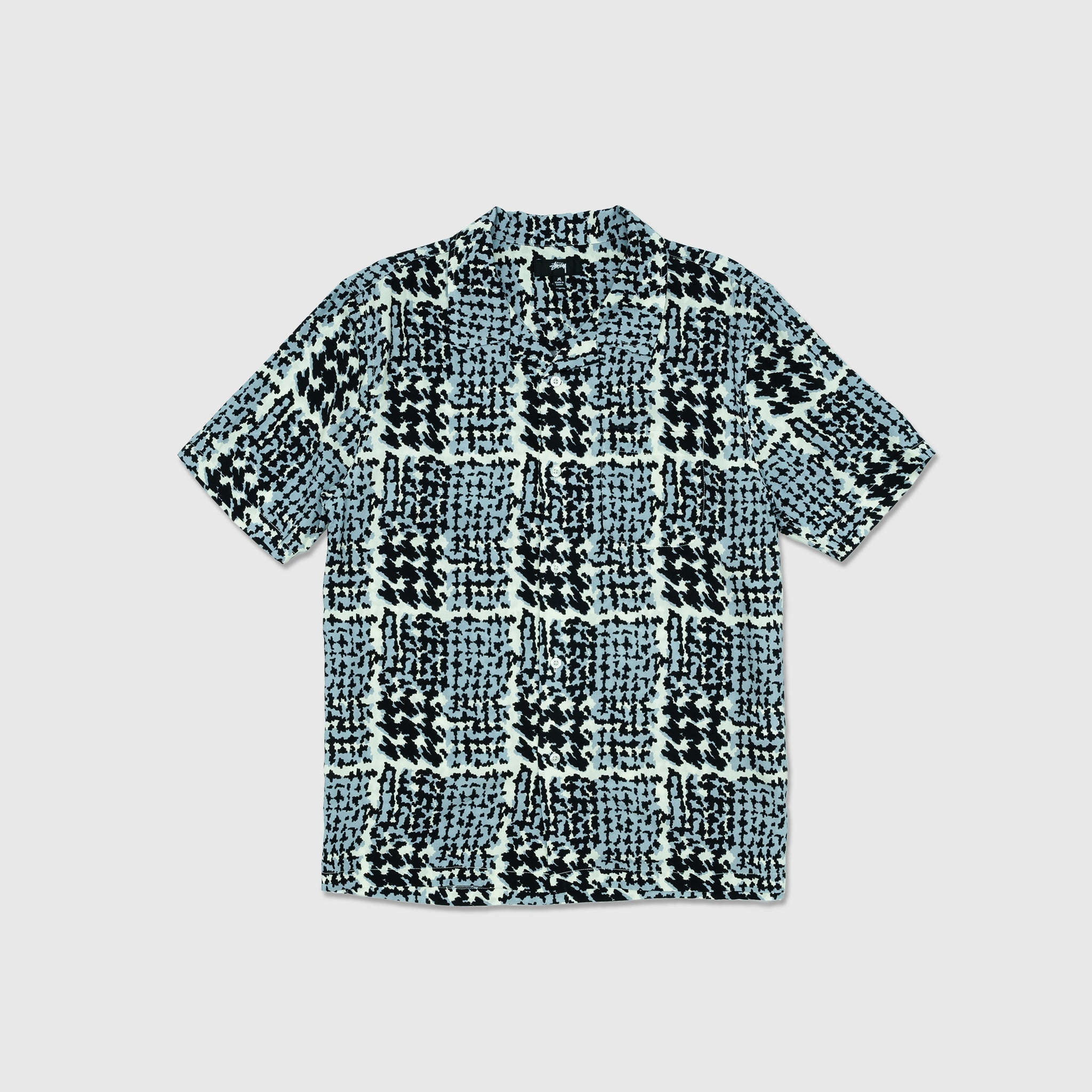 STUSSY HAND DRAWN HOUNDSTOOTH SHIRT
