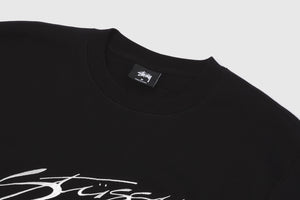 STUSSY NEW WAVE DESIGNS APPLIQUE CREW