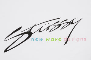 STUSSY NEW WAVE DESIGNS S/ST-SHIRT