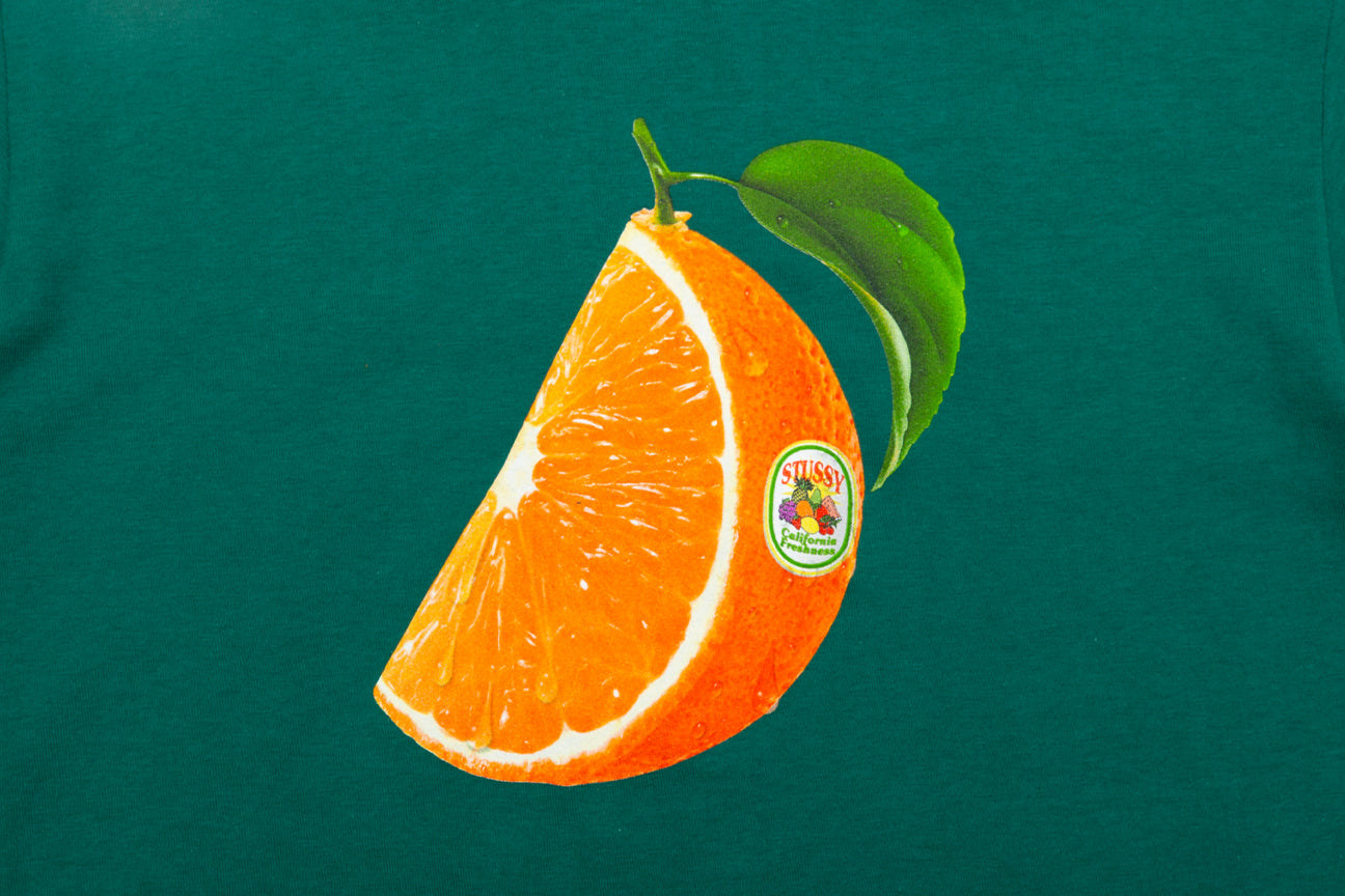 STUSSY ORANGE SLICE S/S T-SHIRT
