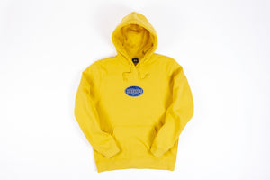 STUSSY OVAL APPLIQUE HOODY