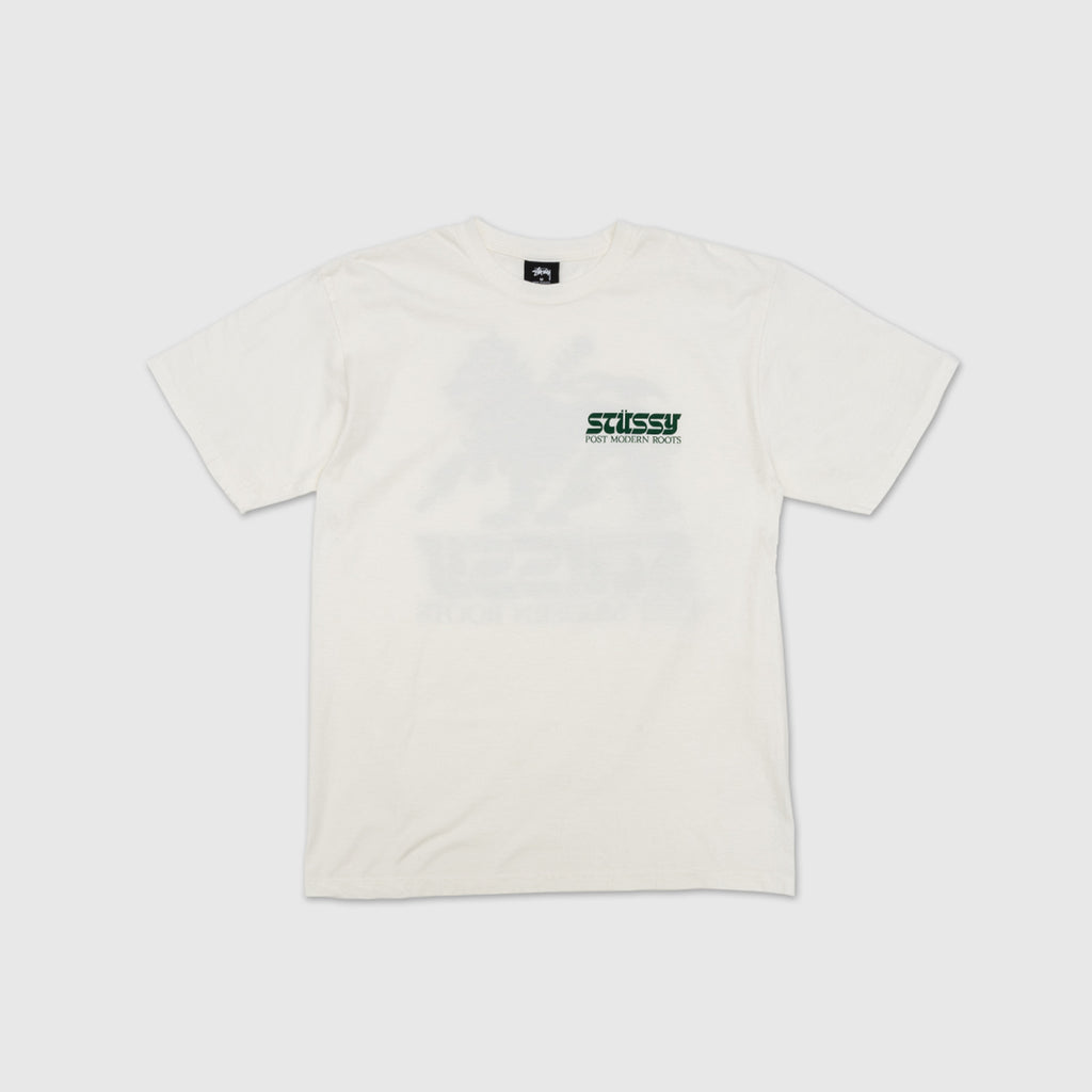 STUSSY POST MODERN ROOTS PIGMENT DYED S/S T-SHIRT