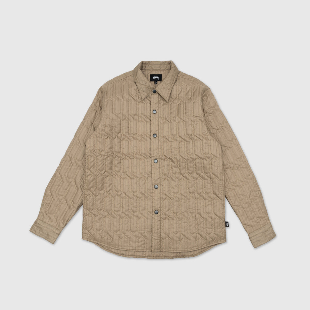 STUSSY QUILTED INSULATED L/S SHIRT