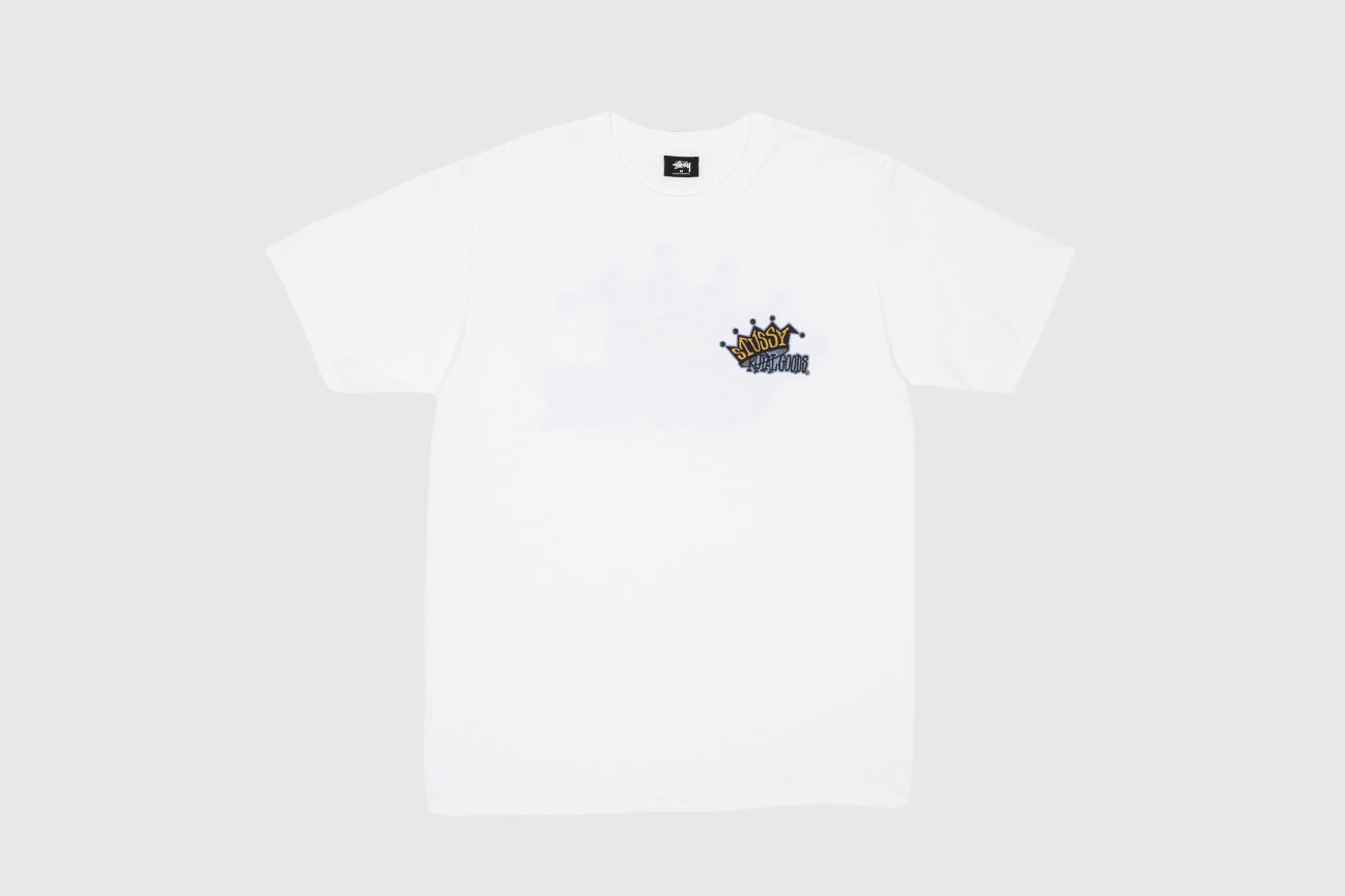 STUSSY ROYAL GOODS S/S T-SHIRT