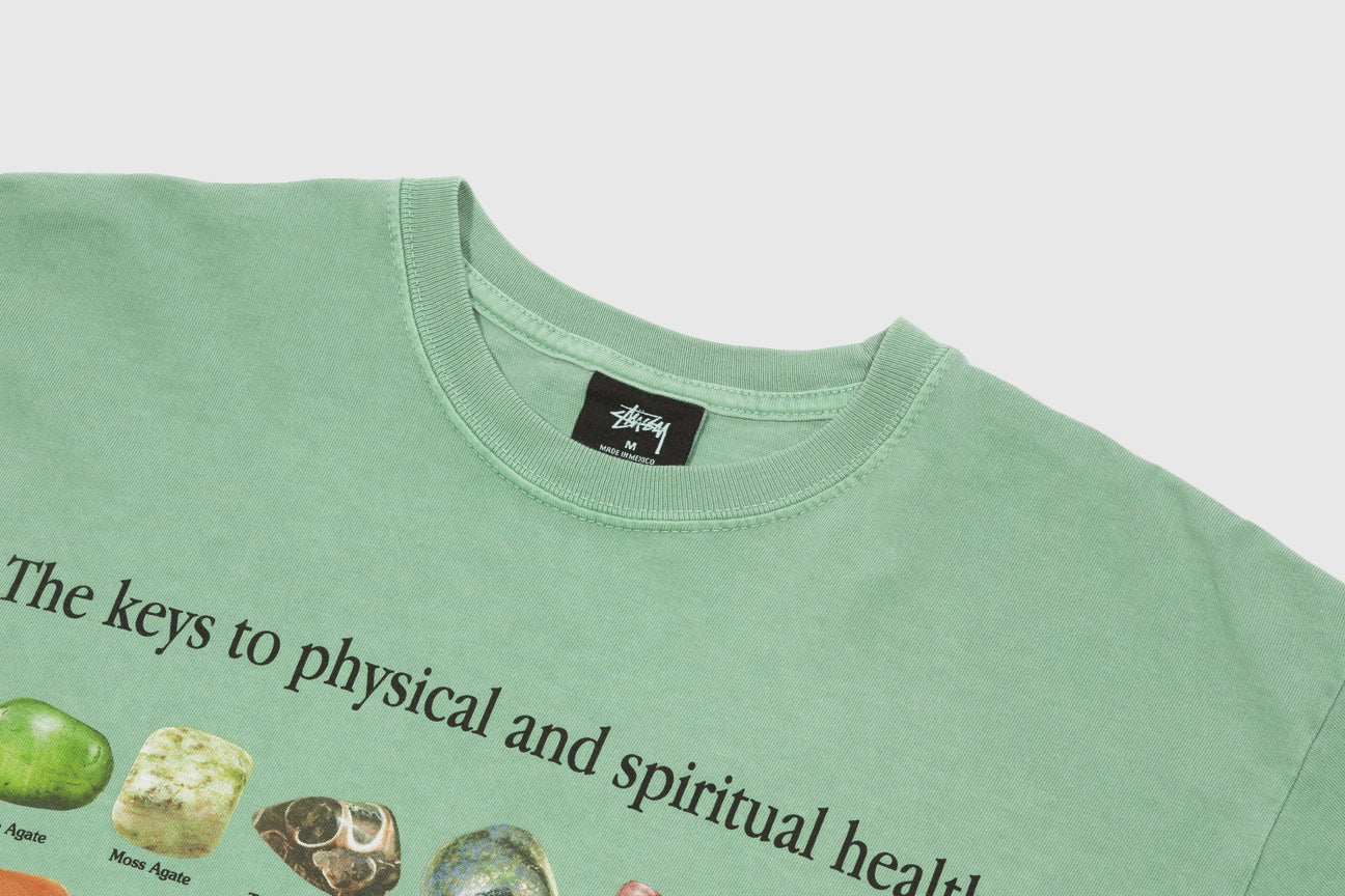 STUSSY STONES PIGMENT DYED S/S T-SHIRT