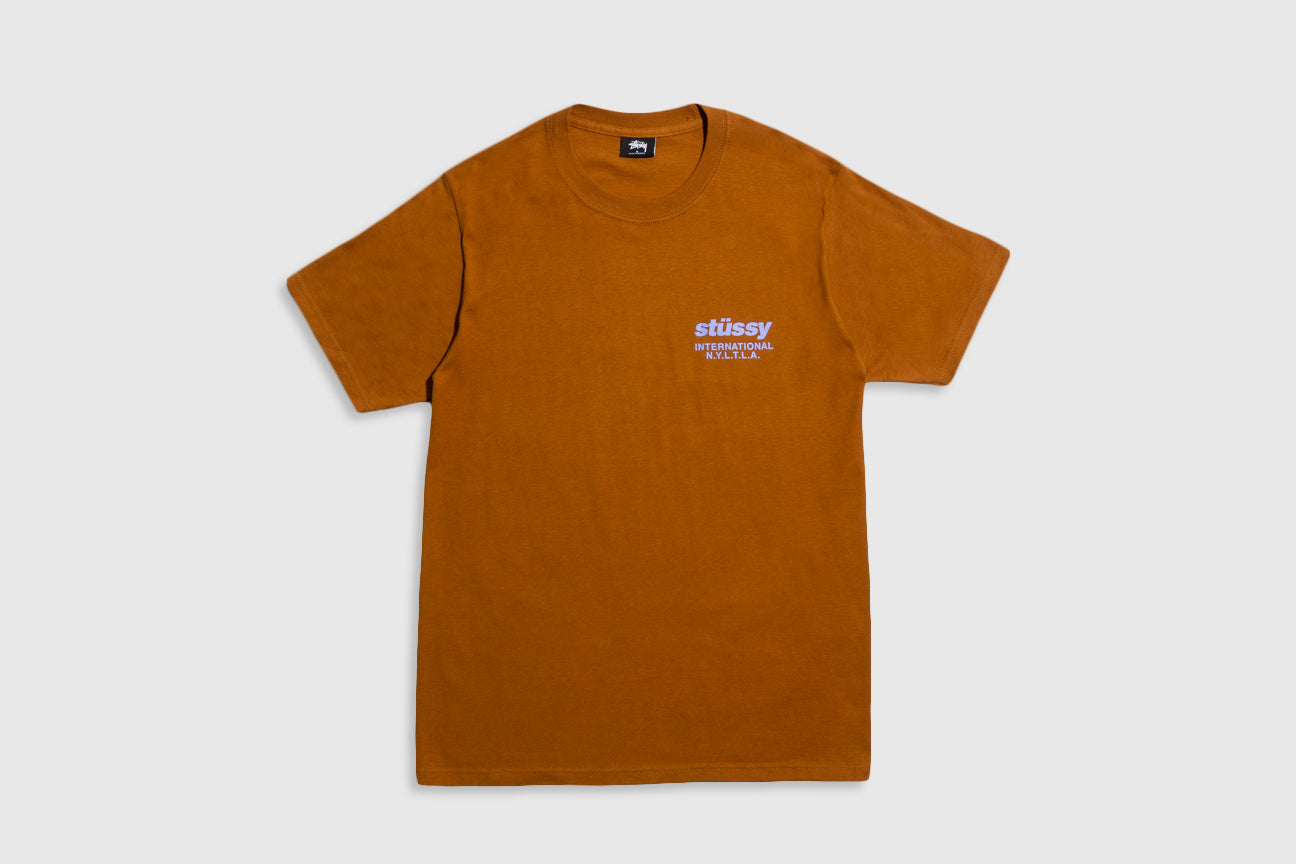 STUSSY WINDFLOWER S/S T-SHIRT