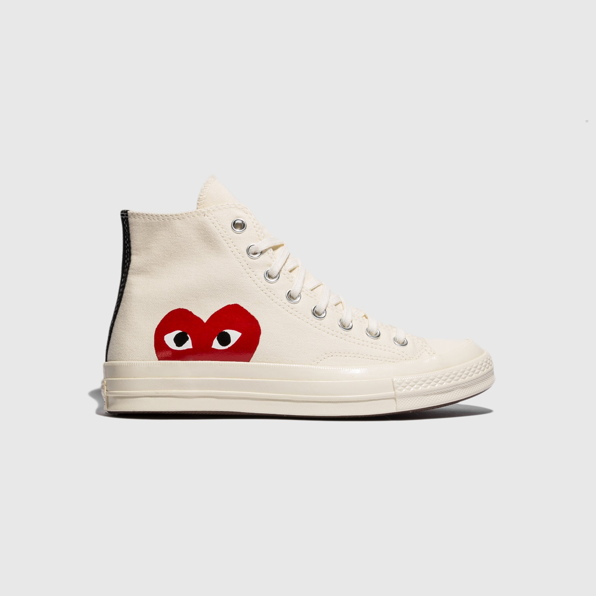 CDG PLAY CONVERSE CHUCK TAYLOR ALL STAR '70 HIGH – PACKER SHOES