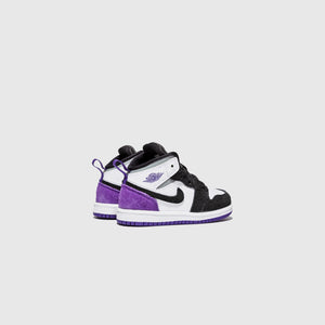 "AIR JORDAN 1 MID SE (TD) ""COURT PURPLE"""