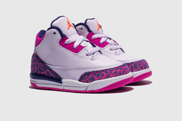 "AIR JORDAN 3 RETRO (TD) ""BARELY GRAPE"""