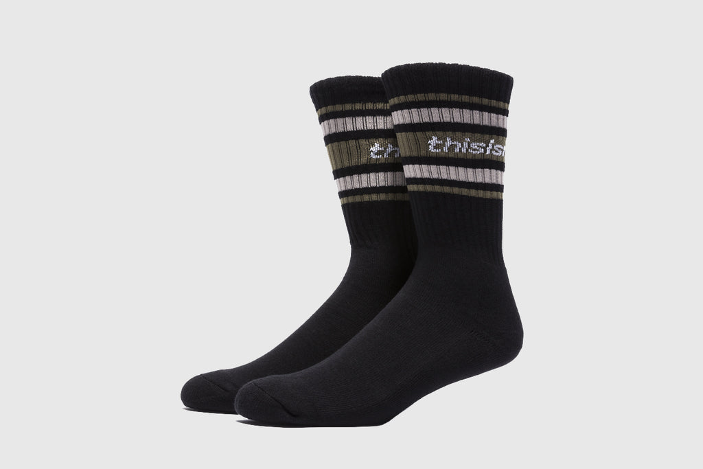 THISISNEVERTHAT STRIPED SOCKS