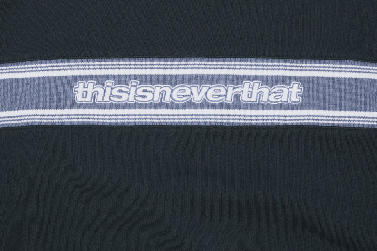 THISISNEVERTHAT CHEST STRIPE CREWNECK SWEATSHIRT