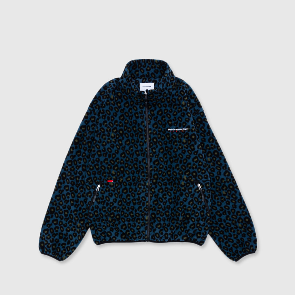 THISISNEVERTHAT DESIGN FLEECE ZIP JACKET
