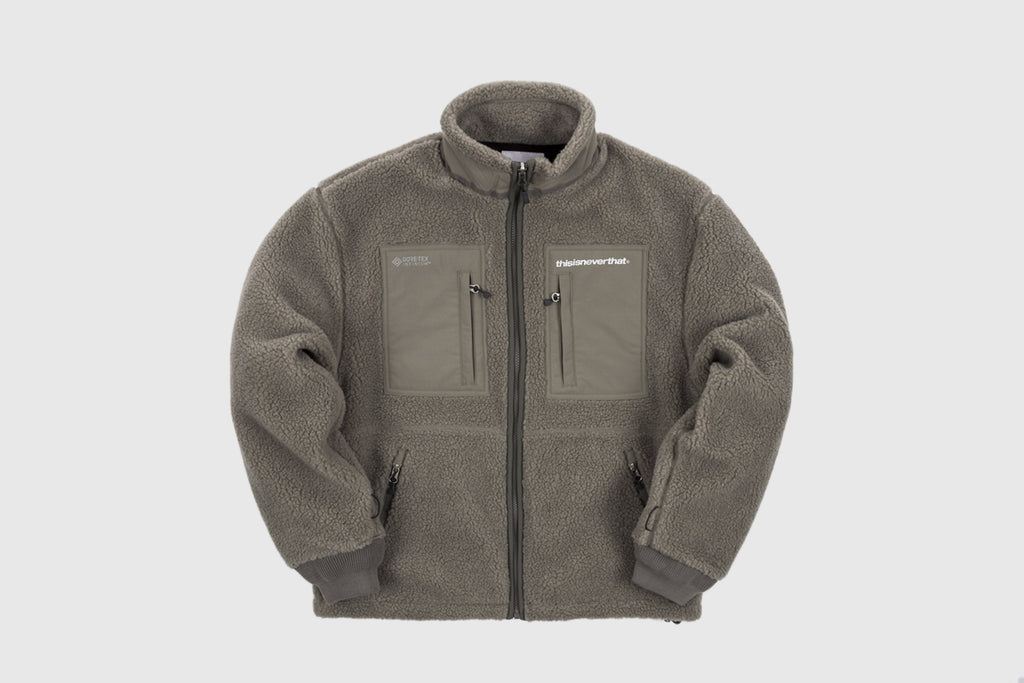 THISISNEVERTHAT GORE-TEX INFINIUM EXPLORER FLEECE JACKET