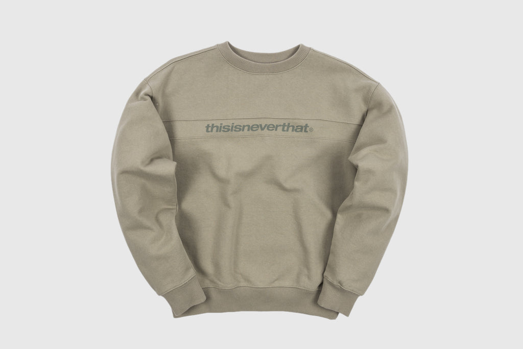 THISISNEVERTHAT SP-LOGO CREWNECK SWEATSHIRT
