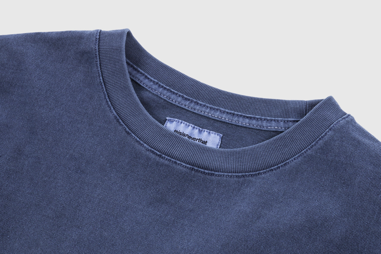 THISISNEVERTHAT OVERDYED POCKET L/S T-SHIRT