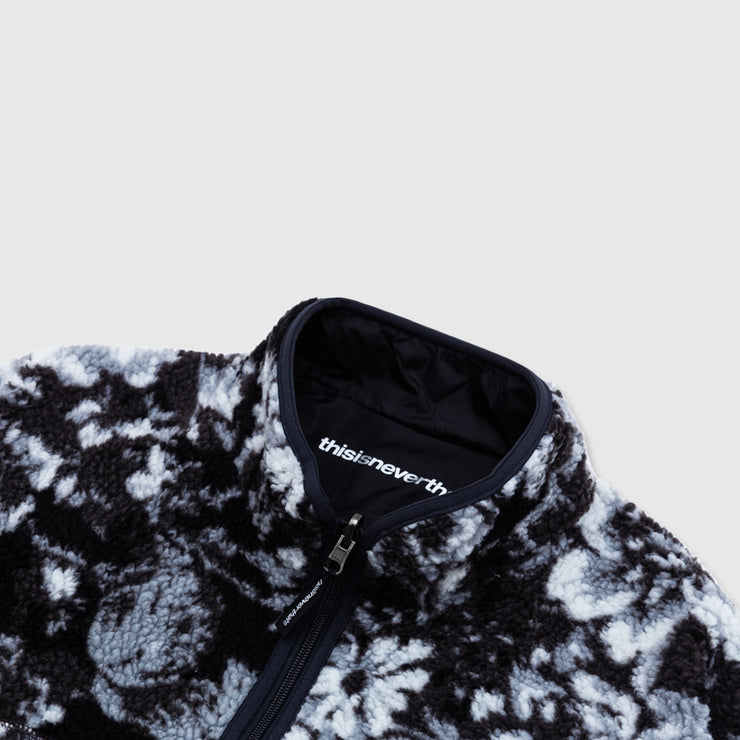 THISISNEVERTHAT REVERSIBLE BOA FLEECE JACKET